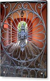 Charleston Gate 1 Acrylic Print by Randall Weidner