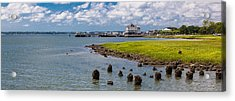 Acrylic Print featuring the photograph Charleston Harbor by Sennie Pierson