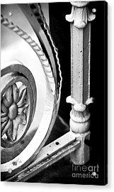 Charleston Iron Works Acrylic Print by John Rizzuto