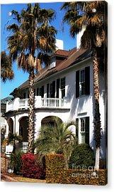 Charleston Living Acrylic Print by John Rizzuto