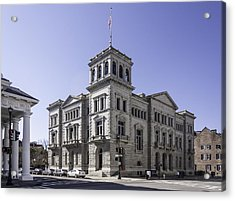 Charleston Post Office And Courthouse Acrylic Print by Lynn Palmer