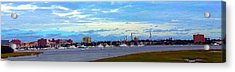 Acrylic Print featuring the photograph Charleston Sc City View by Joetta Beauford