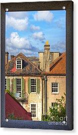 Charleston Singles Out My Window Acrylic Print by Dustin K Ryan