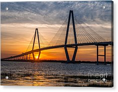 Charleston Sun Setting  Acrylic Print