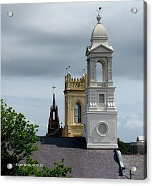Charleston View Acrylic Print by Edgar Torres