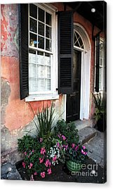 Charleston Welcome Acrylic Print by John Rizzuto