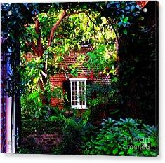 Charleston's Charm And Hidden Gems  Acrylic Print by Susanne Van Hulst