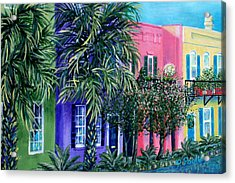 Charleston's Own Rainbow Acrylic Print