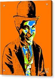 Charlie Chaplin 20130212p28 Acrylic Print by Wingsdomain Art and Photography