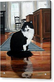 Charlie Acrylic Print by Eileen Patten Oliver