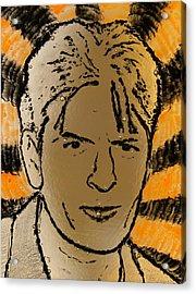 Charlie Sheen Acrylic Print