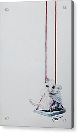 Charlie The Mouse Acrylic Print