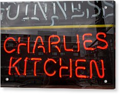 Charlies Kitchen Acrylic Print