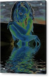 Charlotte Acrylic Print by Acesio Amavi