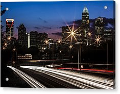 Charlotte Flow Acrylic Print by Chris Austin