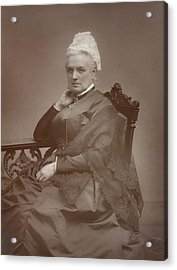 Charlotte Mary Yonge Acrylic Print by British Library