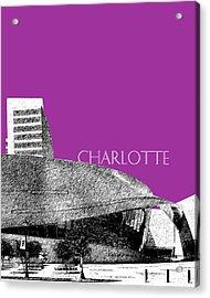 Charlotte Nascar Hall Of Fame - Plum North Carolina Acrylic Print