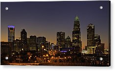 Acrylic Print featuring the photograph Charlotte Nc by Serge Skiba