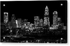 Charlotte Night V2 Acrylic Print by Chris Austin