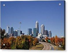 Charlotte North Carolina Acrylic Print
