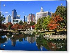 Charlotte North Carolina Marshall Park Acrylic Print