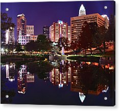 Charlotte Reflecting Acrylic Print by Frozen in Time Fine Art Photography