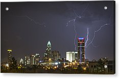 Charlotte's Storm Acrylic Print by Brian Young