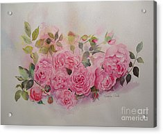 Acrylic Print featuring the painting Charm by Beatrice Cloake