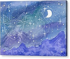 Charmed Night Acrylic Print