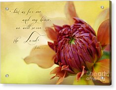 Charmed With Bible Verse Acrylic Print