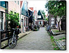 Acrylic Print featuring the photograph Charming Dutch Village by Joe  Ng