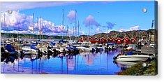 Charming Marina Orust Sweden Acrylic Print