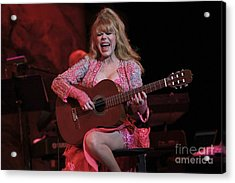 Charo Acrylic Print by Concert Photos