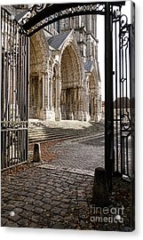 Chartres Cathedral North Transept Acrylic Print by Olivier Le Queinec