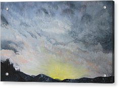 Chase Away The Dark Acrylic Print by Jane Autry