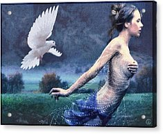 Chased By Purity Acrylic Print by Gun Legler
