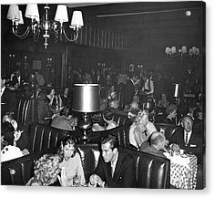 Chasen's Hollywood Restaurant Acrylic Print by Underwood Archives