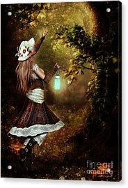 Chasing Magic Acrylic Print by Shanina Conway