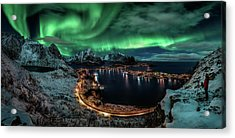 Chasing The Northern Lights Acrylic Print