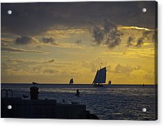 Chasing The Wind Vii Acrylic Print by Scott Meyer