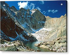 Chasm Lake Acrylic Print by Eric Glaser