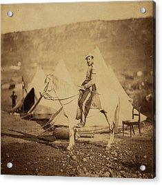Chasseur Dafrique - Officer, Crimean War Acrylic Print