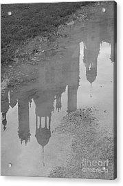 Chateau Chambord Reflection Acrylic Print