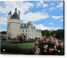 Acrylic Print featuring the photograph Chateau Chenonceau by Pema Hou