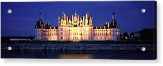 Chateau De Chambord Loire France Acrylic Print by Panoramic Images