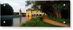 Chateau De Chenonceaux, Loire Valley Acrylic Print