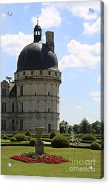 Chateau De Valencay Acrylic Print by Christiane Schulze Art And Photography