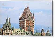 Chateau Frontenac Quebec City Canada Acrylic Print