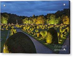 Chateau Garden Acrylic Print
