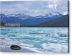 Chateau Lake Louise #2 Acrylic Print by Stuart Litoff